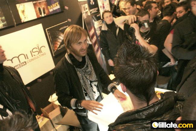 David Guetta au Discom